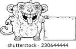a cartoon illustration of an...   Shutterstock .eps vector #230644444