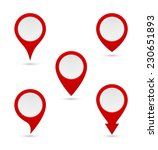 pin map marker pointer... | Shutterstock .eps vector #230651893
