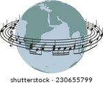 world song  | Shutterstock .eps vector #230655799
