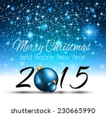 2015 new year and happy... | Shutterstock .eps vector #230665990