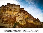 Low Angle View Of Mehrangarh...