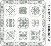 gothic frame | Shutterstock .eps vector #230687548