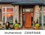 home exterior detail with... | Shutterstock . vector #230693668