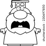 a cartoon illustration of a... | Shutterstock .eps vector #230697850