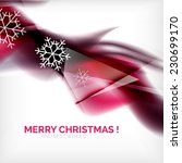 purple color christmas blurred... | Shutterstock .eps vector #230699170