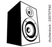 speaker  vector | Shutterstock .eps vector #230707960