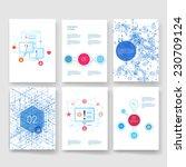vector brochure design... | Shutterstock .eps vector #230709124