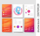 vector brochure design... | Shutterstock .eps vector #230709139