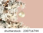 decoration on christmas tree  ... | Shutterstock . vector #230716744