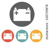 car battery icon   Shutterstock .eps vector #230729878