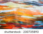 abstract painting by eucalyptus ... | Shutterstock . vector #230735893