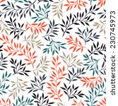 beautiful textile pattern with...   Shutterstock .eps vector #230745973