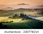 tuscany  farmhouse in the...   Shutterstock . vector #230778214
