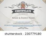 vector illustration of gold... | Shutterstock .eps vector #230779180
