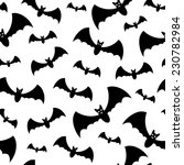 seamless pattern with black... | Shutterstock .eps vector #230782984