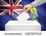 voting concept   ballot box... | Shutterstock . vector #230787034