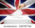 Voting Concept   Ballot Box...