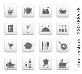 cooking   kitchen icons  vector ... | Shutterstock .eps vector #230788978