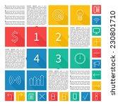 infographic design. flat user...