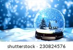Merry Christmas Gift Snow Globe ...