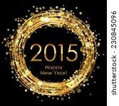 vector 2015 glowing background   Shutterstock .eps vector #230845096