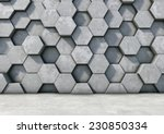 abstract  hexagonal background... | Shutterstock . vector #230850334