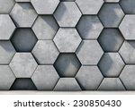abstract  hexagonal background... | Shutterstock . vector #230850430