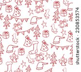 christmas set of pictures  star ...   Shutterstock .eps vector #230853574