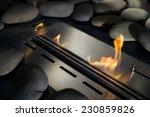 Modern Bio Fireplace Made Of...