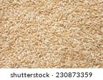 integral uncooked brown rice...   Shutterstock . vector #230873359