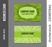 corporate identity   business... | Shutterstock .eps vector #230885866