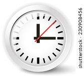 shiny clock icon with... | Shutterstock .eps vector #230908456