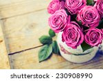 Bouquet Of Beautiful Pink Roses ...