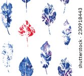 fingerprint pattern from the...   Shutterstock .eps vector #230918443