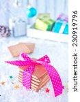 christmas baking sweet cookies... | Shutterstock . vector #230919796