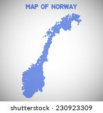 map of norway. transparency... | Shutterstock .eps vector #230923309