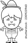 a cartoon illustration of a... | Shutterstock .eps vector #230923960