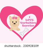 love message to your pet.... | Shutterstock .eps vector #230928109