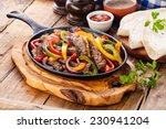Beef Fajitas With Colorful Bel...