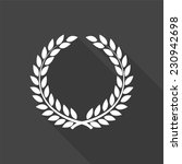 laurel wreath icon   vector... | Shutterstock .eps vector #230942698