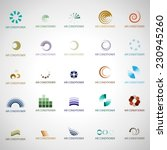 air conditioner icons set  ... | Shutterstock .eps vector #230945260