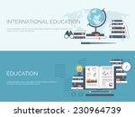 vector illustration. flat study ... | Shutterstock .eps vector #230964739