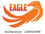 simple image of an eagle | Shutterstock .eps vector #230965498