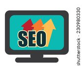 seo  search engine optimization ... | Shutterstock . vector #230980330