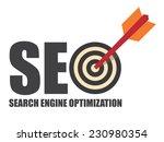 search engine optimization  seo ... | Shutterstock . vector #230980354