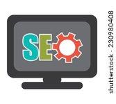 seo  search engine optimization ... | Shutterstock . vector #230980408