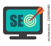 seo  search engine optimization ... | Shutterstock . vector #230980480