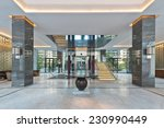 stair case of an clubhouse... | Shutterstock . vector #230990449