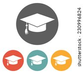 education cap icon | Shutterstock .eps vector #230996824