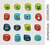 toy speech bubble banner design ...   Shutterstock .eps vector #231005290